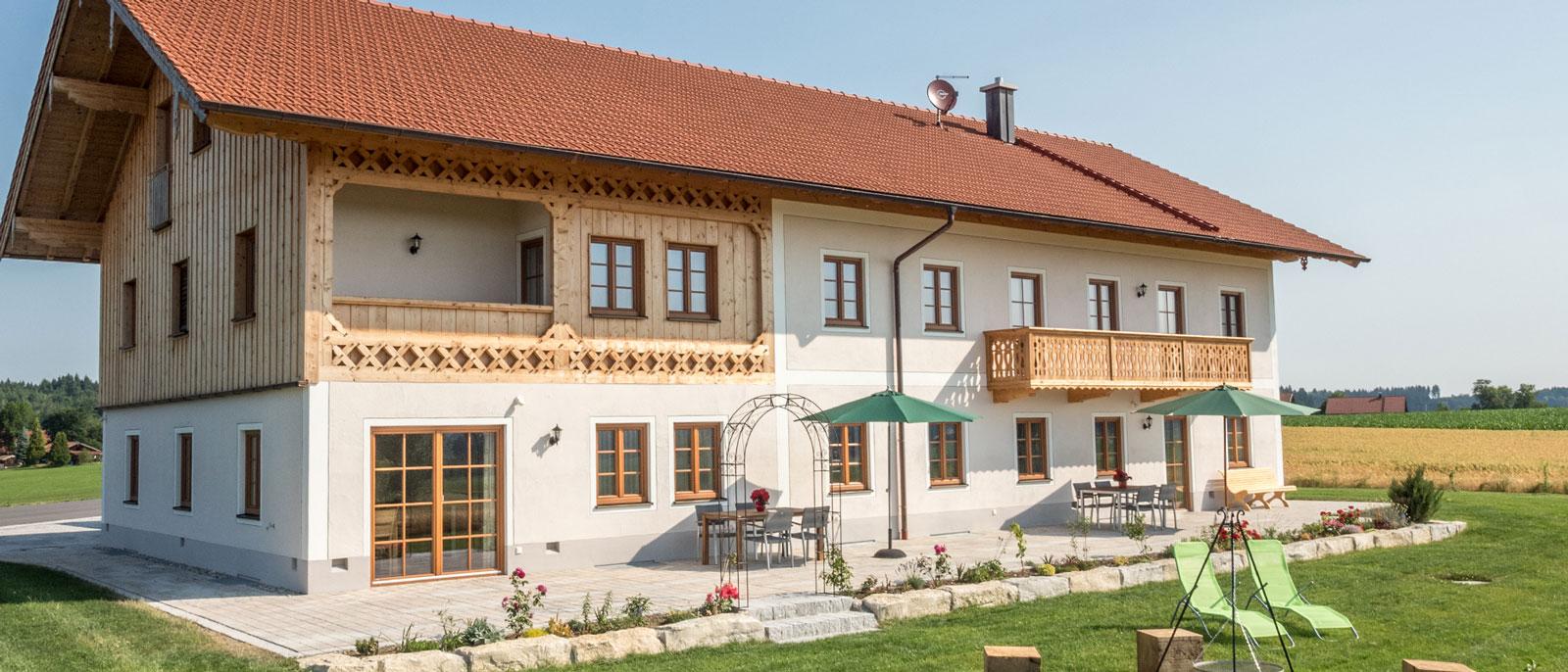 Ferienwohnung im Chiemgau.